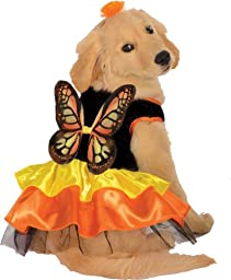 Rubie\'s Pet Costume, X-Large, Monarch Butterfly