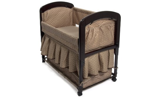 Arm S Reach Co Sleeper Cambria Bassinet Toffee 2011 08