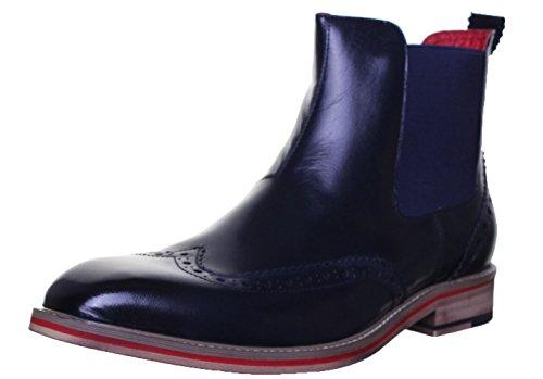 justin-reece-raymond-mens-leather-matt-boots-11-uk-navy-