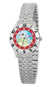 Disney Kids' D875S232 The Princess and The Frog Time Teacher Expansion Strap Watch