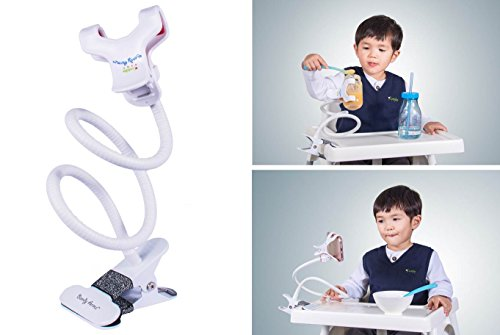 Bendy Armz - Car Seat Attachment/ Stroller Clip/ Stroller Attachment/ Hands Free Bottle Holder