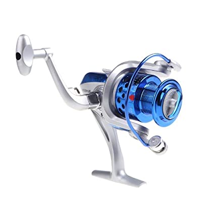 Lixada 8BB Ball Bearings Left/Right Interchangeable Collapsible Handle Fishing Spinning Reel ST4000 5.1:1 by Lixada