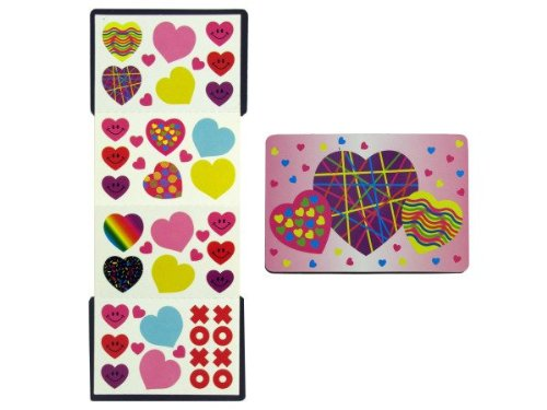 Valentine'S Stickers With Magnetic Case - Case of 48