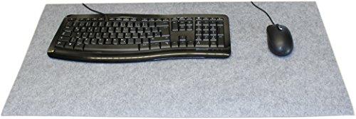 Designer-Filz-Schreibtischunterlage-graumeliert-in-XXL-ca-40x80cm-gro-Originelle-Schreibunterlage-besonders-weich-und-komfortabel-Die-coole-Alternative-zur-Papier-oder-Leder-Schreibtischunterlage
