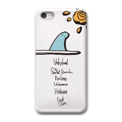 33design×collaborn iPhone5c専用スマートフォンケース Fine White BR-I5C-035