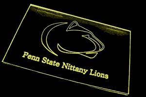 NCAA Penn State Team Logo Neon Light Sign (Yellow)