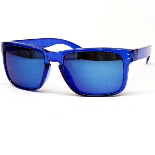 Vintage Wayfarer Crytal Sunglasses Mirrored