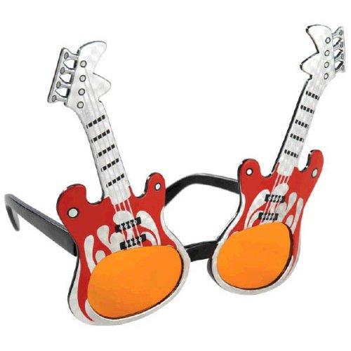 Rock Star Electric Guitar Sunglasses, Uv 400