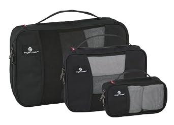 Eagle Creek Travel Gear Pack-It Cube Set, Black, One Size
