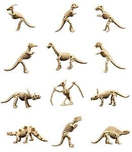 Dinosaur Bones * Fossil Toy Figures ~ (20 Skeleton Figurines) from CollectsNHobbies