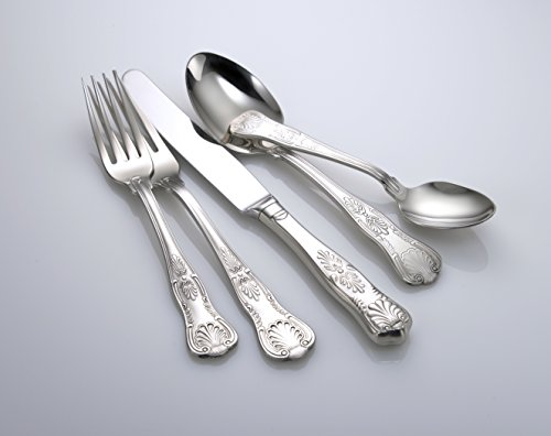 Liberty Tabletop Sheffield 65 Piece Flatware Set Service for 12 (Hotel Flatware compare prices)