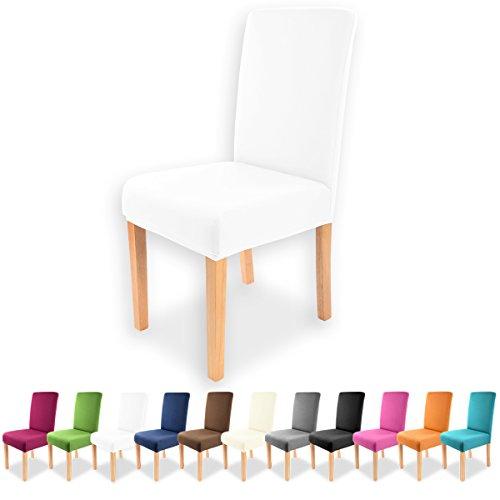 gräfe Stayn universale per sedia Charles in vari colori per rotonda e quadrata e schienale White