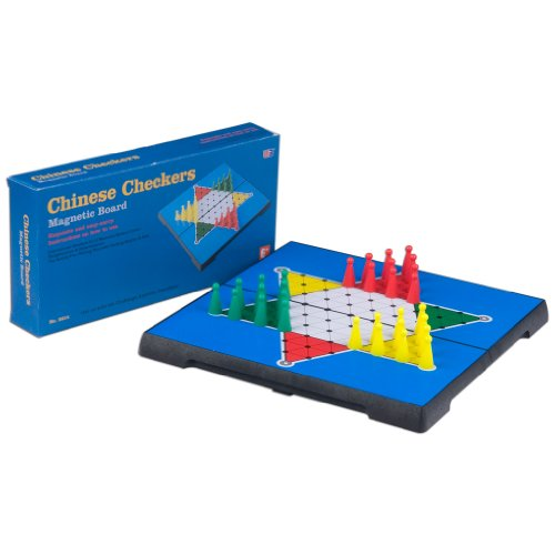 Yellow Mountain Imports Travel Magnetic Chinese Checkers Set