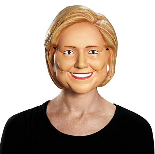 [Hillary Clinton Mask Adult Funny Political Costume Fancy Dress] (Political Couple Costumes)