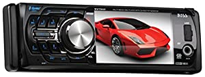 BOSS Audio BV7942 In-Dash Single-Din 3.6-inch Detachable Screen DVD/CD/USB/SD/MP4/MP3 Player Receiver with Remote from Boss Audio Systems, Inc.