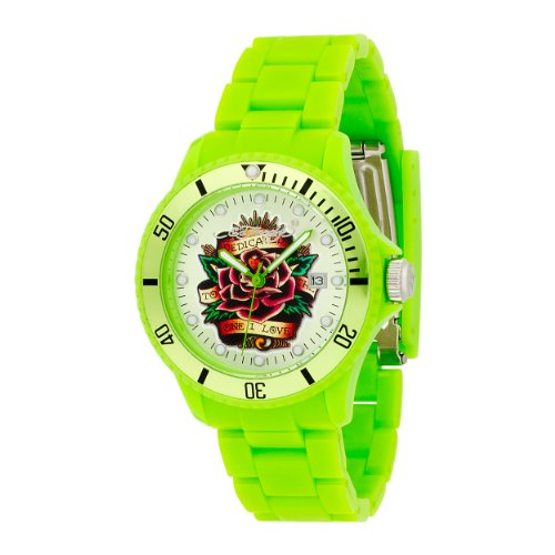Ed Hardy Unisex VP-GR VIP Green Watch