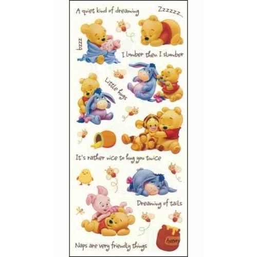 Amazon.com: Sandylion Disney Winnie the Pooh Stickers