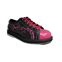 Pyramid Women\'s Rise Black/Hot Pink (Size 6.5)