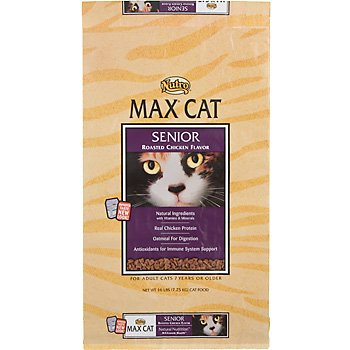 See Max Senior Roasted Chicken Flavor Cat Food, 6-Pound