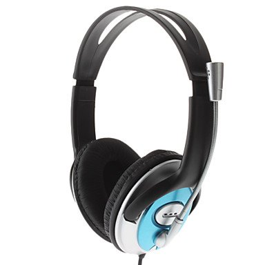 Comfort Hi-Fi Audio Stereo Headphone With Microphone For Gaming & Skype