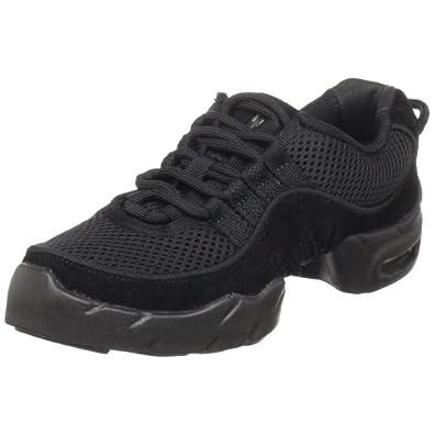 Bloch Women's Boost Mesh Sneaker Dance Sneaker,Black,10 X(Medium) US