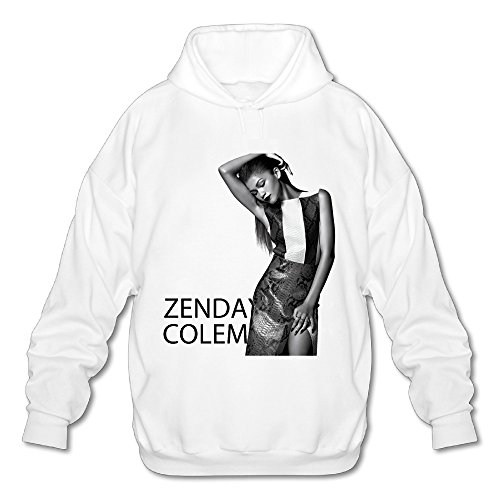 Wesley Zendaya Coleman Men's Athletic Pullover Hood White S (Coleman Blender compare prices)