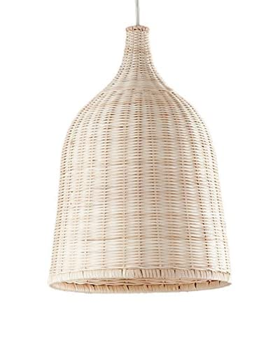 Homemania Lampada A Sospensione Wood Noce