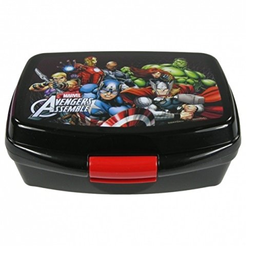 Maxi&mini; Avengers - Lunch Box, Hulk, Iron Man, Captain America And Thor Picture