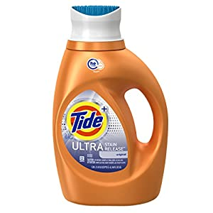 Tide Ultra Stain Release HE Turbo Clean Liquid Laundry Detergent