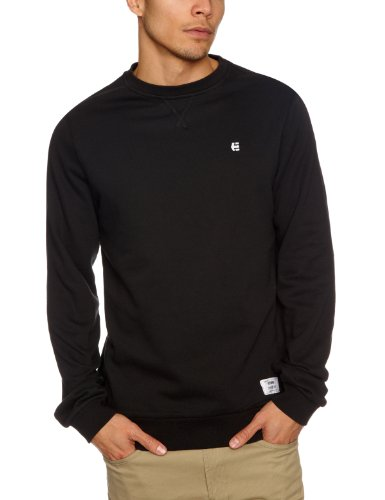 Etnies Classic Crew Men's Sweatshirt Black Medium