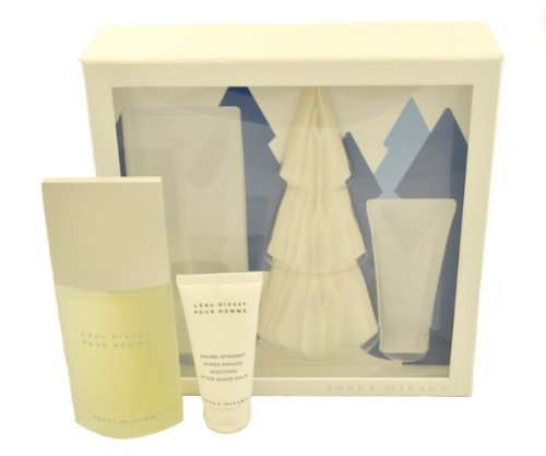 Issey Miyake Man Set: Eau De Toilette Spray 125 ml and Aftershave Balm 50 ml