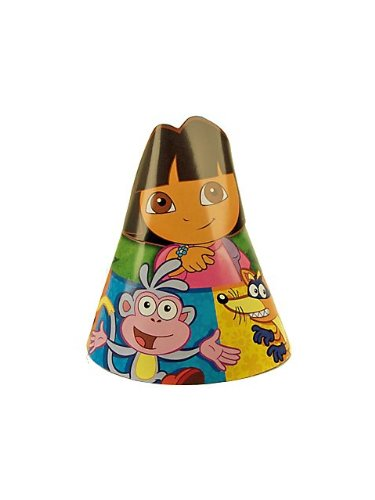 Dora the Explorer and Friends Paper Hats 8 Pack