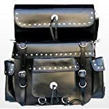 Sissy Bar Top Case Saddle Bag Saddle Bags SB-124 Harley