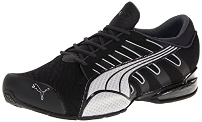 PUMA Men's Voltaic III NM Fashion Sneaker,Black/Dark Shadow/PUMA Silver,7.5 D US