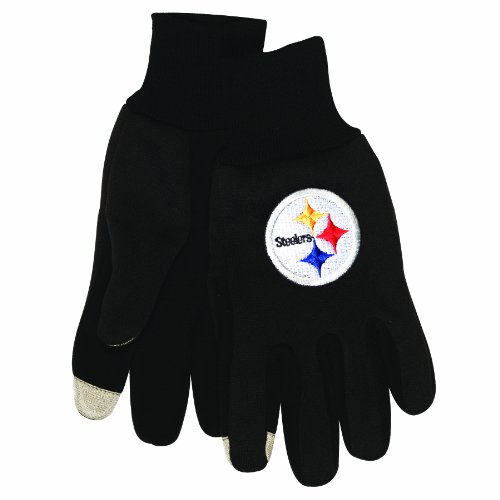 NFL Pittsburgh Steelers Technology Touch Gloves at Amazon.com