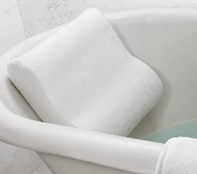 Best Cheap Deal for Microdry Luxury Bath Pillow with Memory Foam, White from Minds In Sync - Free 2 Day Shipping Available