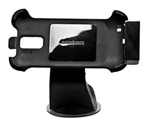 Samsung ECS-K1F4BEGSTA T-Mobile SGH-T989 Vehicle Mount - Car Kit - Retail Packaging - Black by Samsung