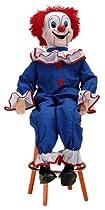 Bozo the Clown Ventriloquist Doll