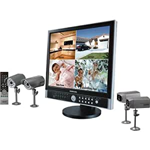 "Samsung 8-Channel Observation Systems With DVR And 19"" LCD Monitor"