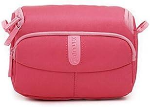 BTBS fashion lady39s cute Waterproof Camera Shoulder Bag for SONY A500A5100Nikon J1 J2-Pink