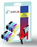 Inkandtoneruk- 10x Compatible 364 XL Multipack Printer Ink Cartridges for HP Photosmart B8550 B8553 B8558 C5324 C5370 C5373 C5380 C5383 C5388 C5390 C5393 C6324 C6350 C6380 C6383 C7380 D5445 D5460 D5463 D5468 D7560 HP Photosmart e-All-in-One 6520 7510 752