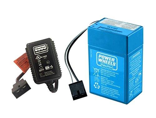 Power Wheels Lil Kawasaki KFX Battery and Charger - NEW, GENUINE (Lil Kawasaki compare prices)
