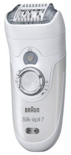 Braun Silk-épil 7 7381 Wet  &  Dry Body System Rechargeable Epilator