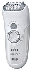 Braun Silk-épil 7 7381 Wet and Dry Cordless Epilator with 2 Attachments