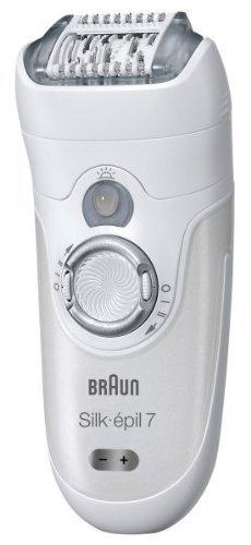 Braun Silk-épil Xpressive Pro 7681 Wet & Dry Rechargeable Epilator