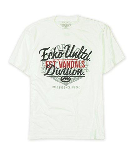 Ecko Unltd. Mens Vans Script Vandals Graphic T-Shirt