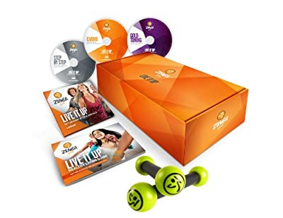 Zumba Fitness Gold Live It Up Dvd Set Multi