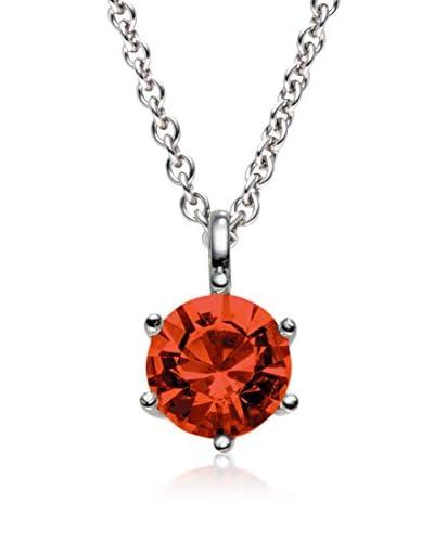 Saint Francis Crystals Colgante  Rojo