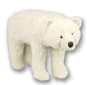 Amazon Com Bear Footstool White Polar Bear
