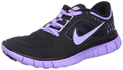 Nike Women's Free Run+ 3 Running Shoe AW12: Black / Medium